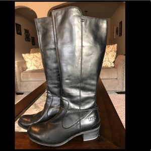 Ugg Leather Boots size 9